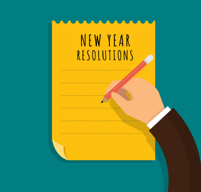 How to set a 2021 resolution